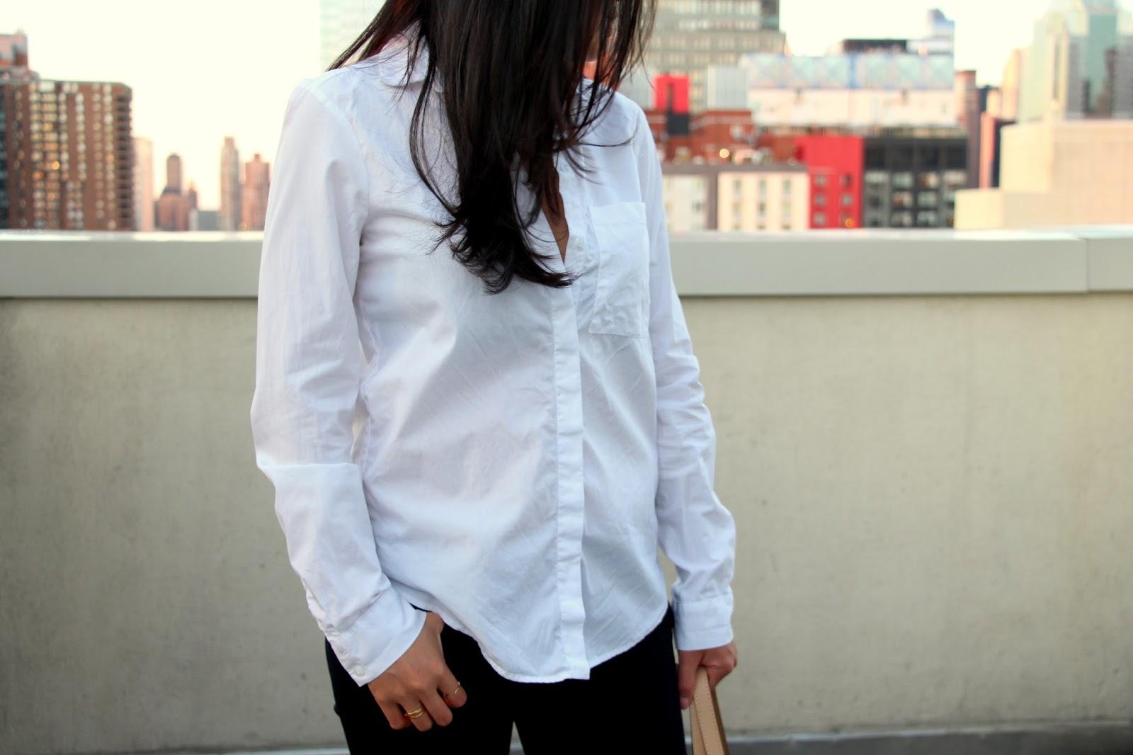fall flare jeans genetic cypress bell bottom jeans zara white shirt tibi mules rebecca minkoff dylan mini tote