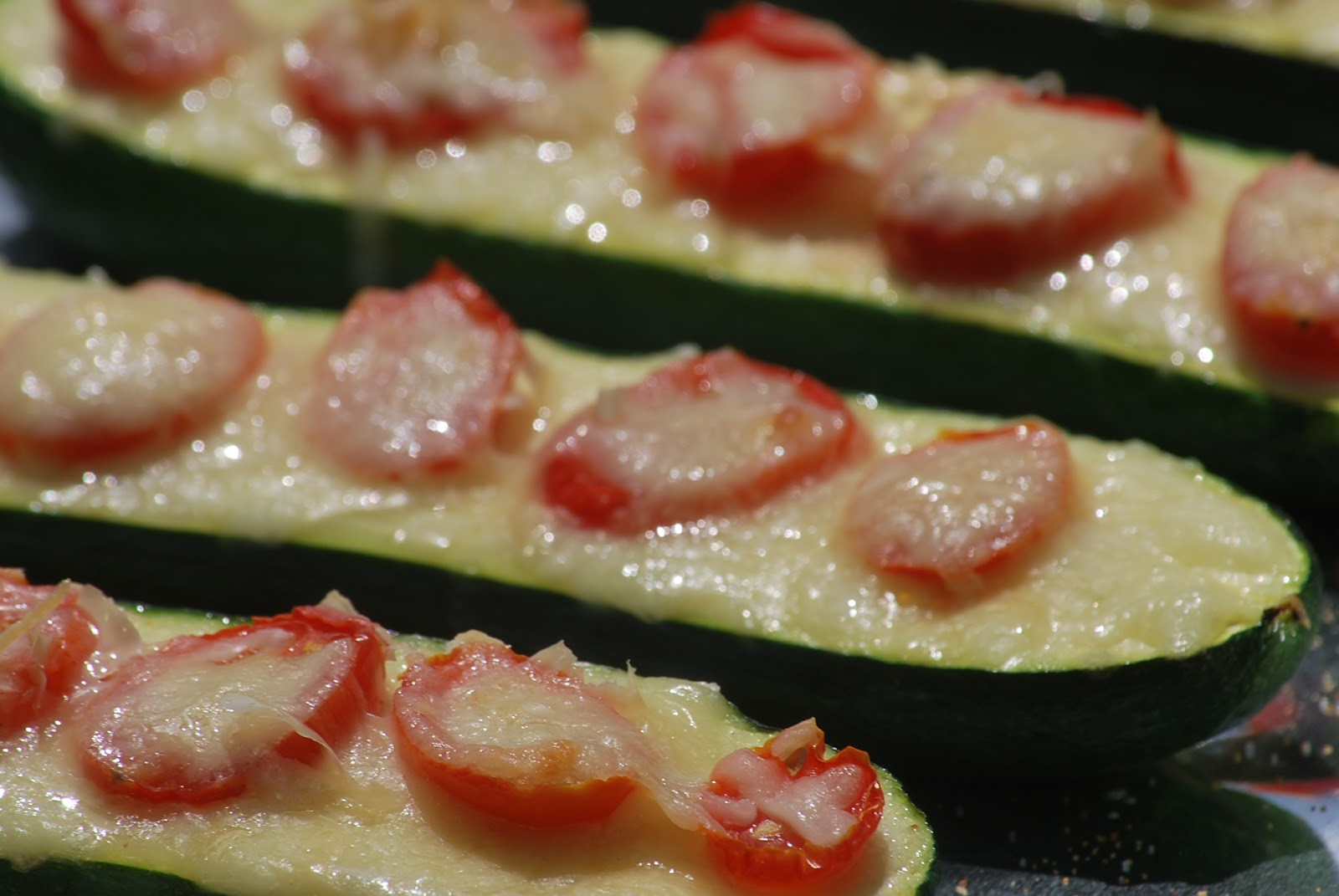 My story in recipes: Zucchini Pizza