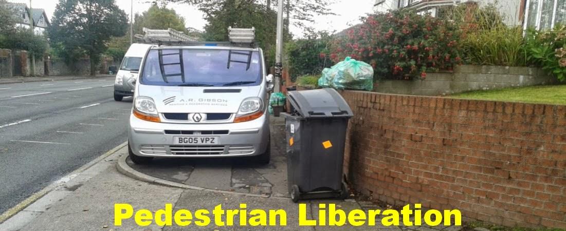 Pedestrians Liberation Cardiff