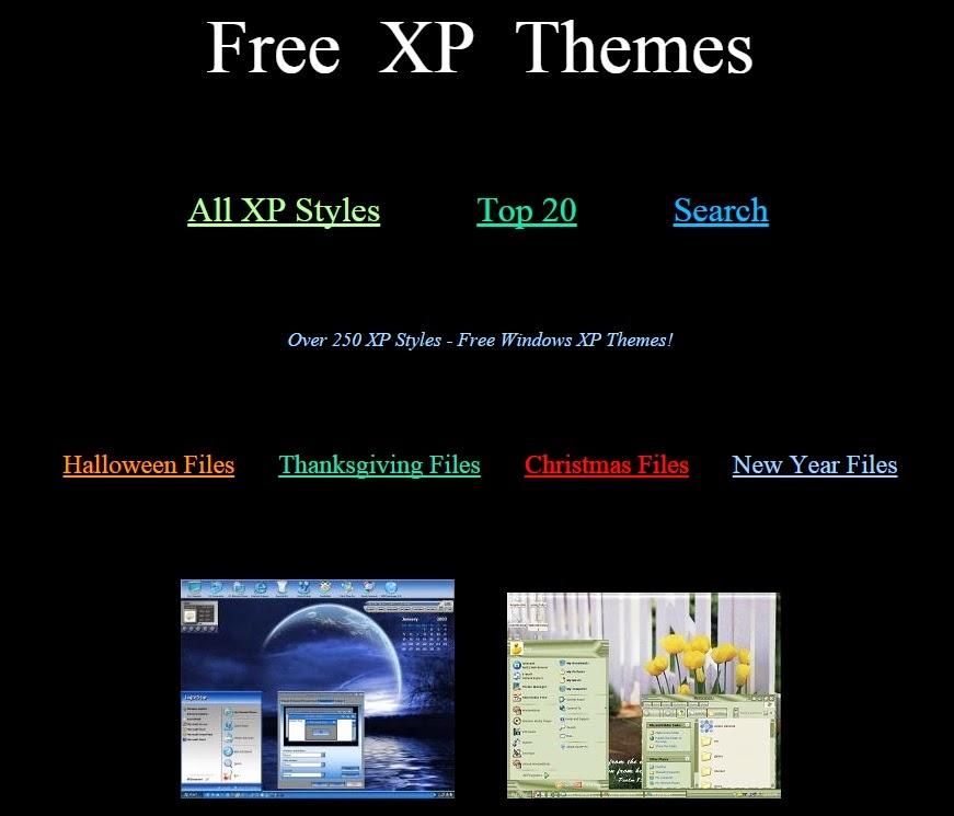 computer science free xp desktop themes download