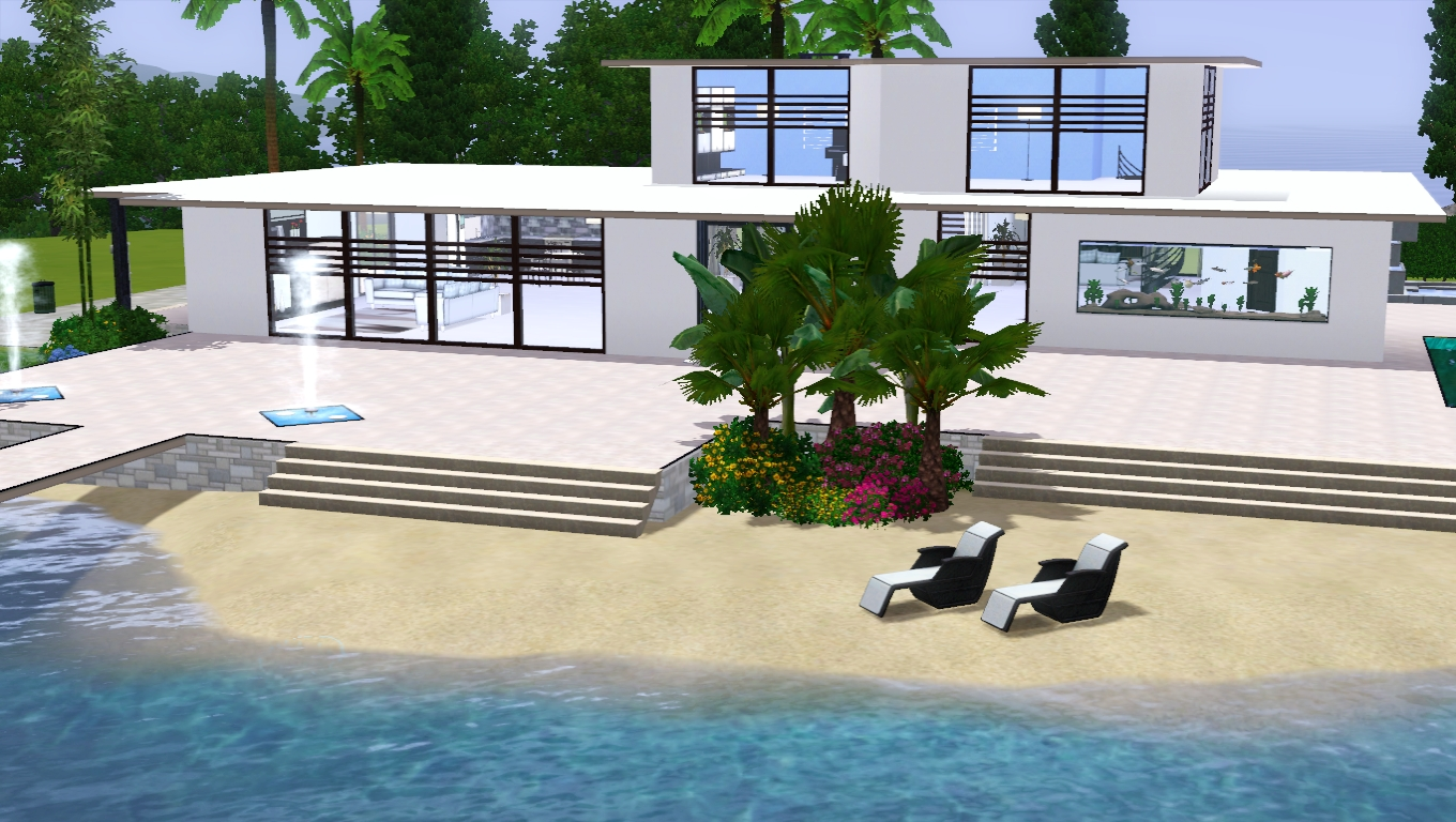 The sims giuly download e tutorial di the sims 3 sea house - The sims 3 case moderne ...