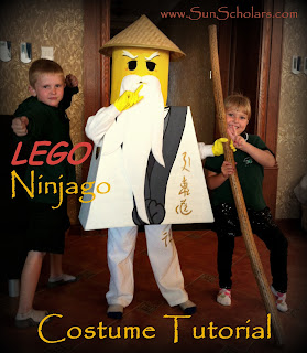 Lego Ninjago Costume