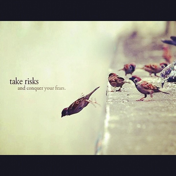 taking risks life quotes