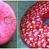 Bantal Donat Hello Kitty