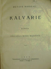 """Traduction tchèque du """"Calvaire"""", 1923"""