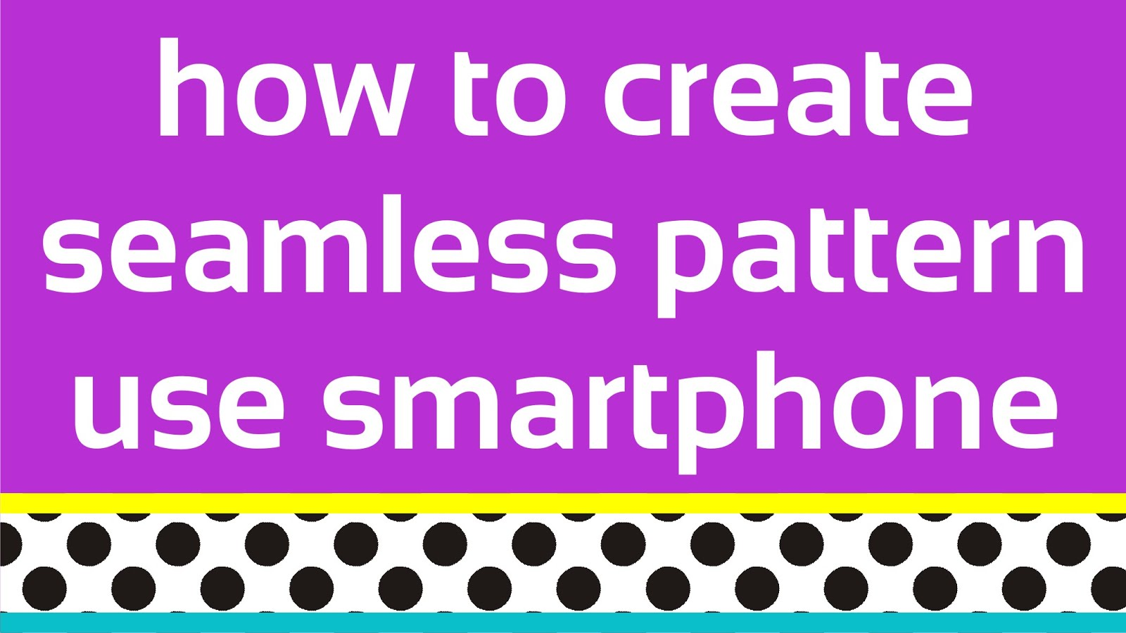Create Design With Your Phone