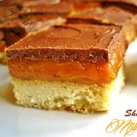 shortbread millionnaire chocolat caramel