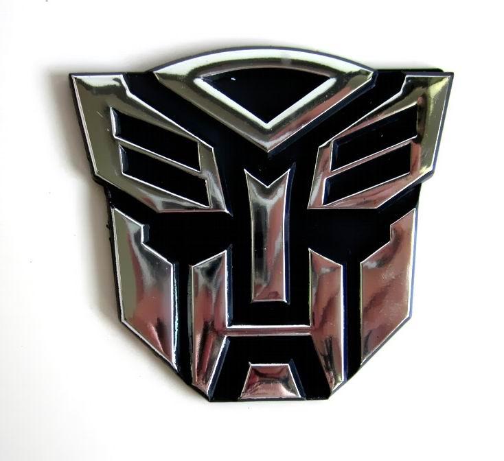 Robot Art Transformersemblem Symbol Chrome Autobots