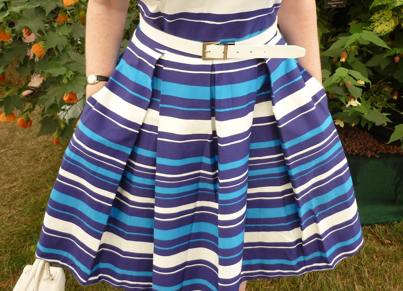Close up of skirt; PetiteSilverVixen
