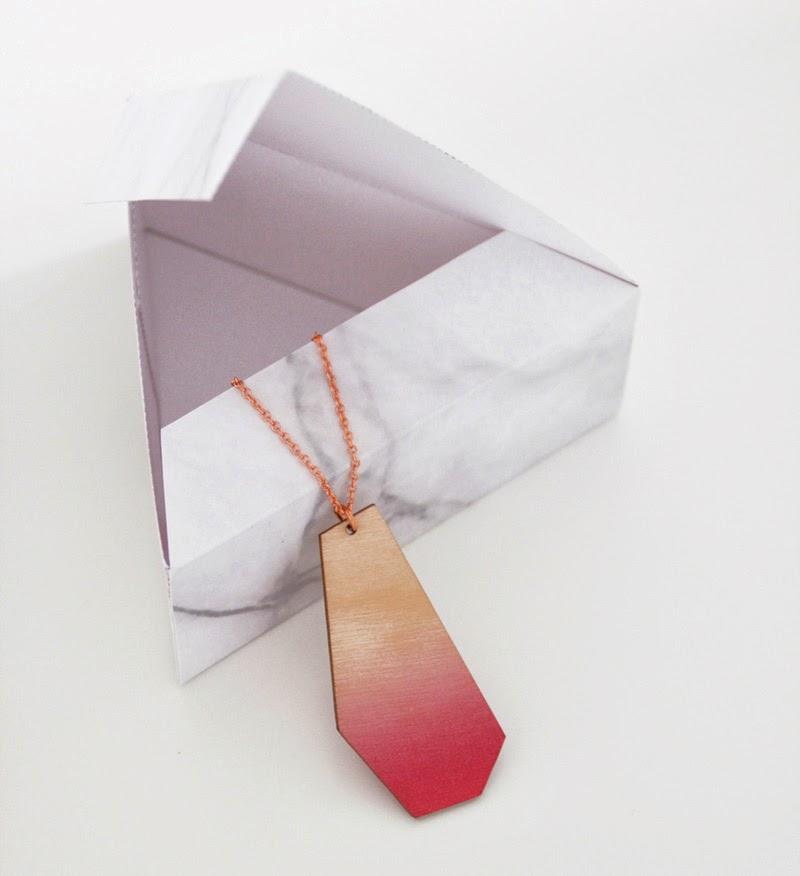 Cajas de reglao Snug Triangles Gift