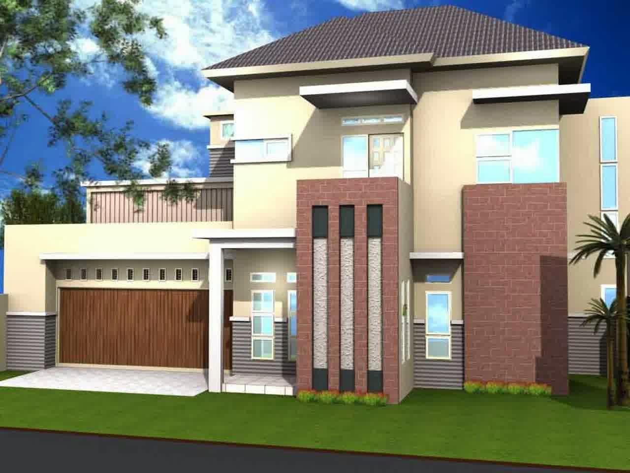 Contoh Gambar Desain Rumah Modern Minimalis