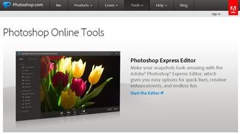 Edita y retoca tus fotos con Photoshop Online Tools