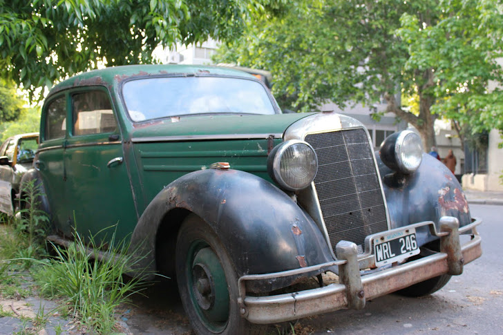 Fin gammel bil