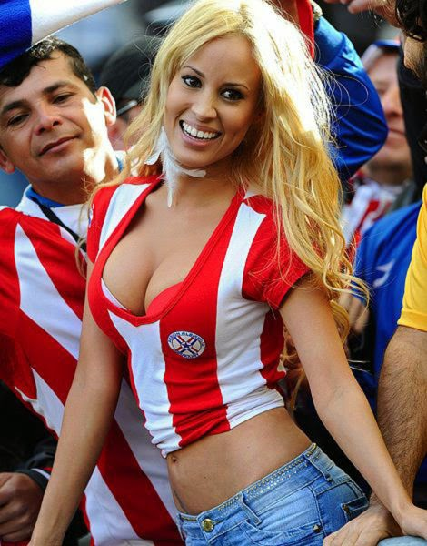 Hottest Womens At The Past Football World Cups Photos