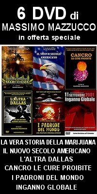 I DVD di Massimo Mazzucco (Droga. Cancro. 11 settembre. UFO. Omicidio di JFK.)