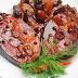 Cá giò kho thịt