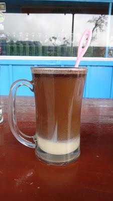 Индонезийский кофе с сгущеным молоком
