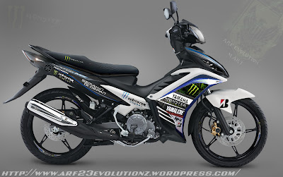 Modifikasi Jupiter Mx 2013 Standar