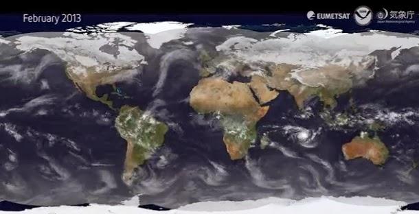 Hipnotizante video mostra o tempo de um ano inteiro