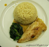 Chicken Spinach Rice