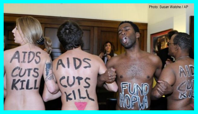 ACT-UP Brilliantly Storms Speaker Boehner's Washington Office to protest AIDS budget cuts