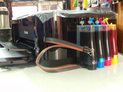 Принтер Canon PIXMA MG3110 с СНПЧ