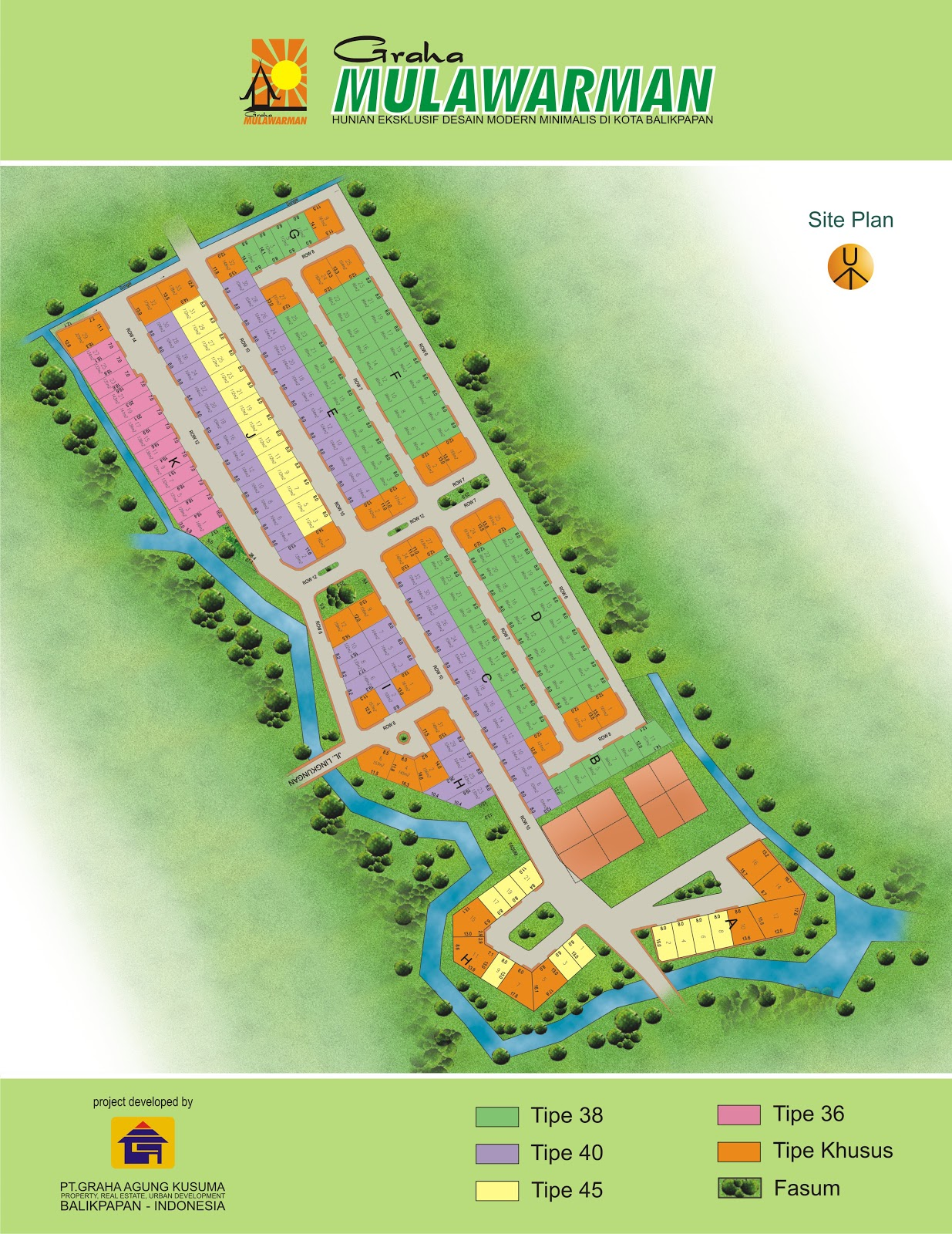 site plan q Clermont-Ferrand