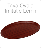 tava ovala imitatie lemn pentru servire. pret tavi profesionale. www.amenajarihoreca.ro