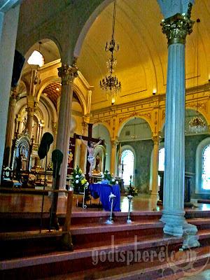 San Sebastian Altar