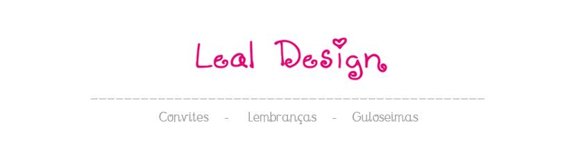 Leal Design. Personalizando Momentos Inesquecíveis.