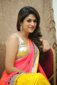 Shraddha das photos in Saree at Rey audio launch-thumbnail-2