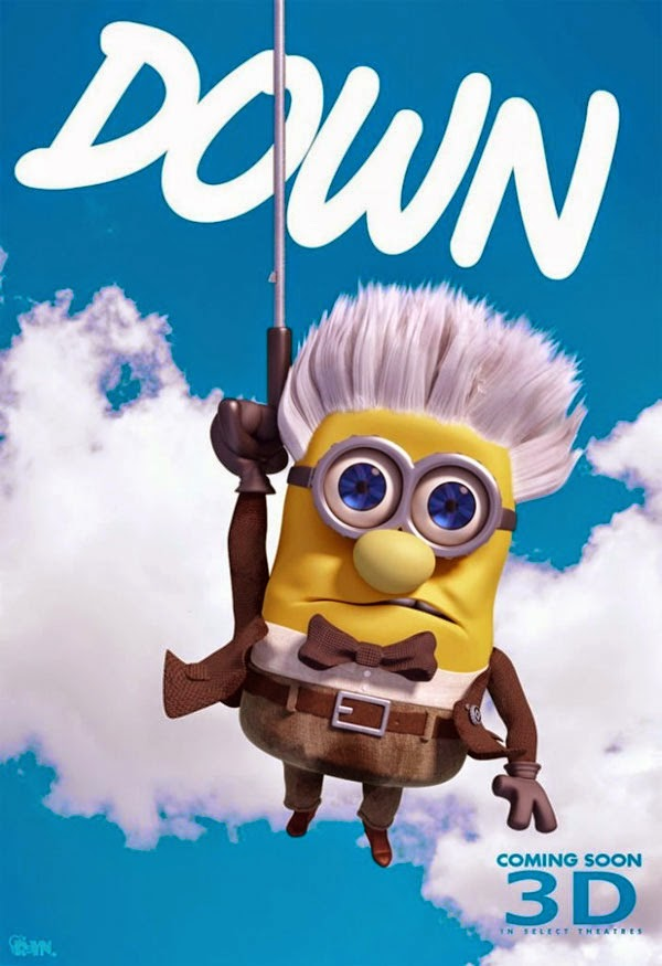 Sr. Minion Fredricksen de Up - Altas Aventuras