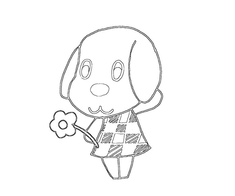 Free Coloring Pages Of Animal Crossing Animal Crossing Coloring Pages