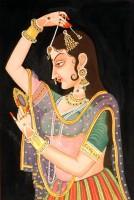 Nayika Shringar Painting