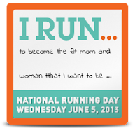 I run because: