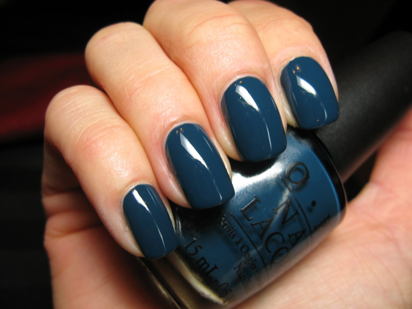 Polished Casual: OPI Ski Teal We Drop