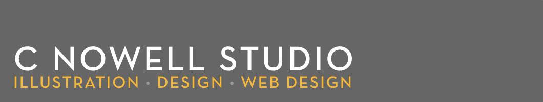 C Nowell Studio<br> <small>Illustration • Design • Web Design</small>