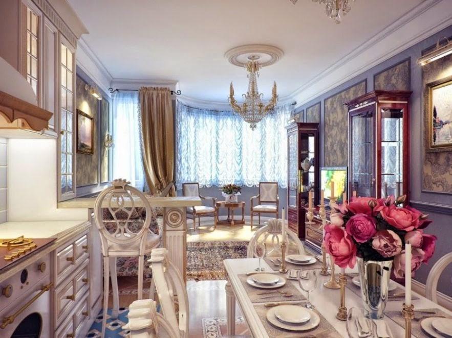Desain Dapur Mewah Rumah Klasik Terbaru Detiklife