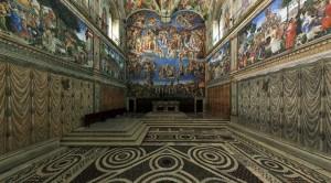 Capela Sistina: traves, tubos e parafusos diante do Juízo universal