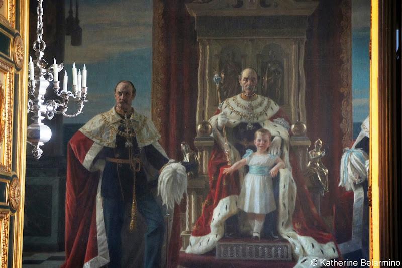 King Frederik IX Painting, Christiansborg Palace, Copenhagen, Denmark
