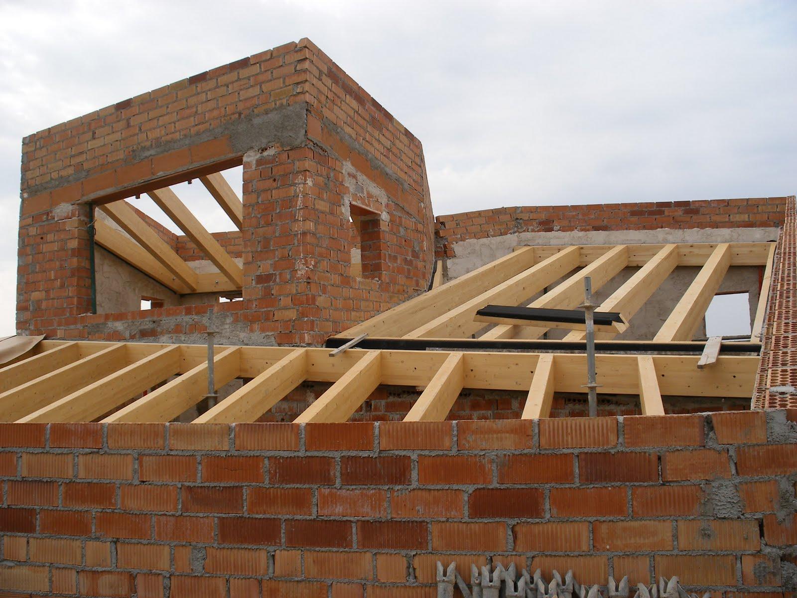 Construyendo la casa bioclim tica 12 construcci n 5b - Estructura madera laminada ...