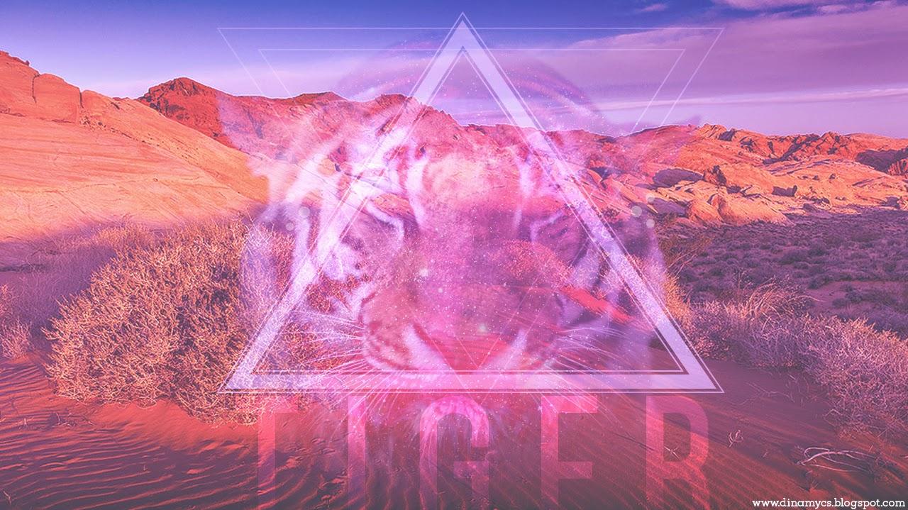 Tiger Tumblr Hipster Wallpaper