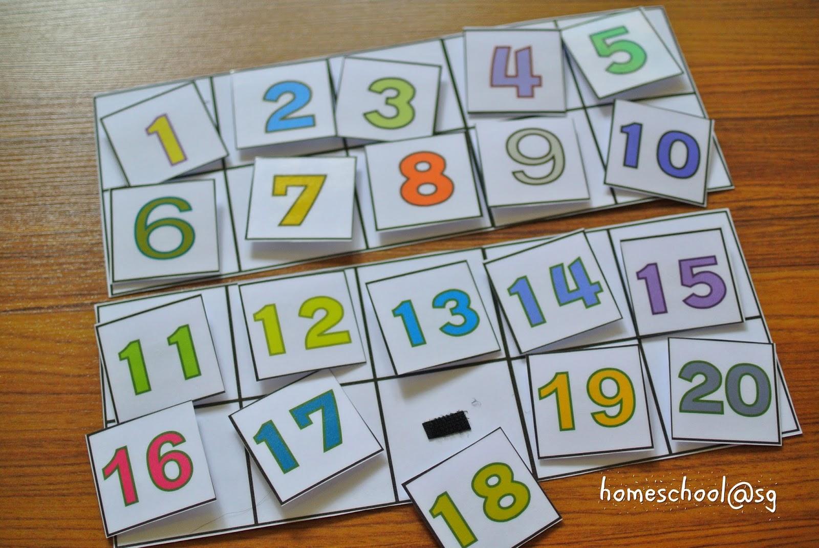 Homeschool@sg: Homemade Printables