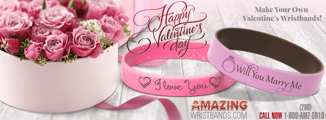 Valentines Day Special wristbands