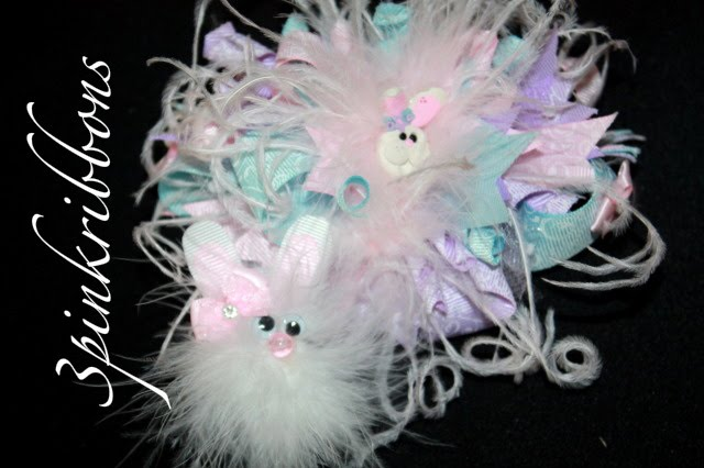 THe Easter Bunny Bows in Pastels!
