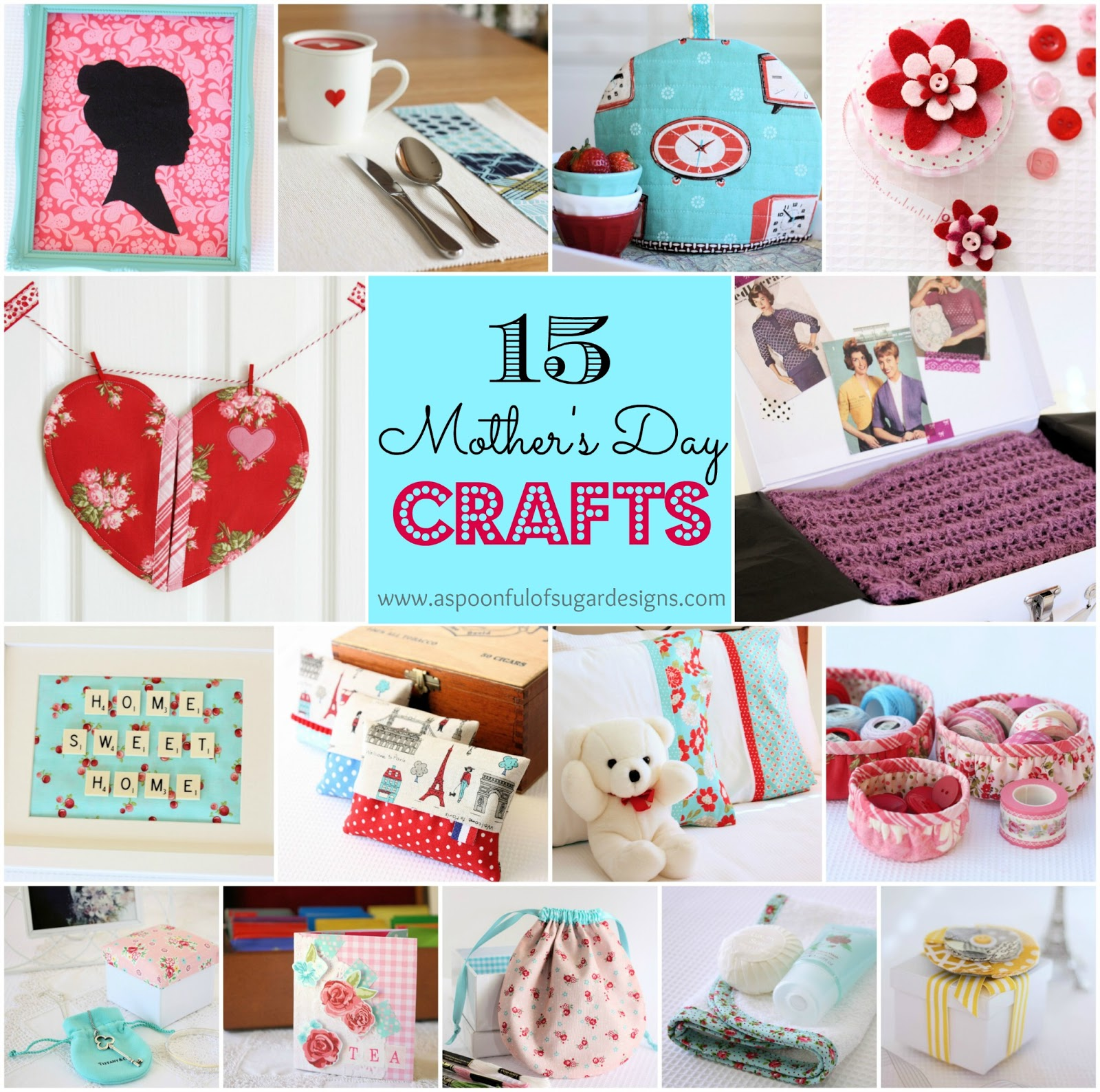 Mother 39 s day crafts a spoonful of sugar for Crafts to make for mom