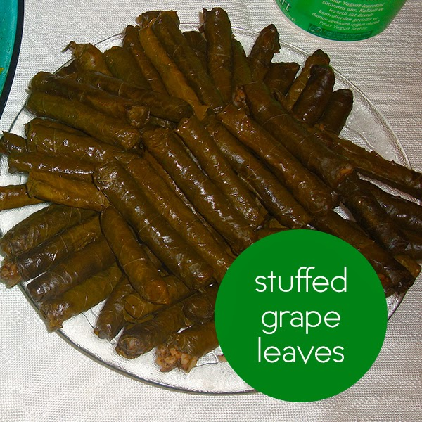 Turkey Stuffed Grape Leaves