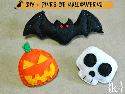 DIY - Pines de Halloween