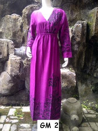 Baju Bali Murah Gamis Mano Panjang