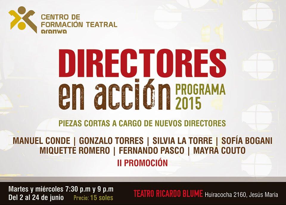 II FESTIVAL DE DIRECTORES EN ACCIÓN